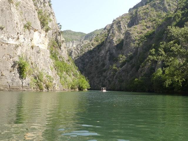Matka Canyon Macedonie met kinderen