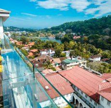 Hotel Kandy Sri Lanka met gezin